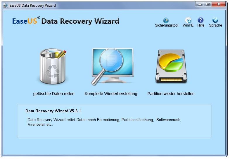 Daten retten mit File Recovery