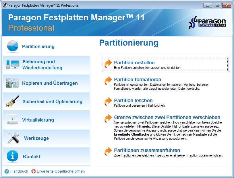 Paragon Домашний Эксперт 11 + (Boot CD Linux / DOS & WinPE) .