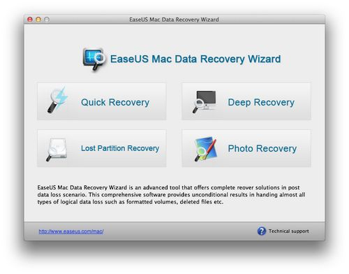 Mac Data Recovery Wizard screenshot: data, recovery, file, files, recover, rescue, HDD, drive, disk, recover