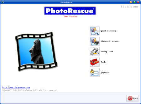 PhotoRescue PC EN screenshot