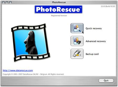PhotoRescue Mac EN screenshot