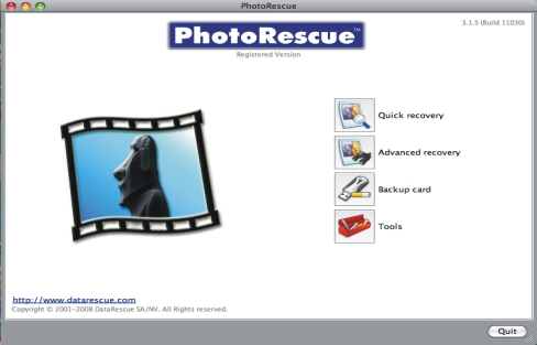 Photorescue Macintosh Version