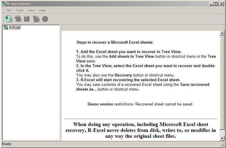 R-Excel Dateirettung