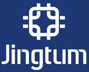Jingtum Blockchain Logo vertikal